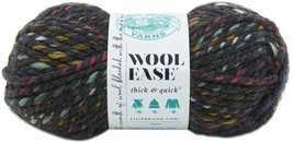 Lion Brand Wool-Ease Thick & Quick Yarn-Bedrock Stripes - $27.02