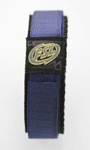 Fossil Unisex Navy Blue Black Nylon Watch Strap 20mm - $9.36