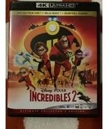 Incredibles 2 4K (4k Ultra HD/Blu-ray) No Digital - $14.10