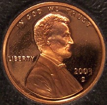 2003-S DCAM Proof Lincoln Memorial Cent #0440 - $4.29