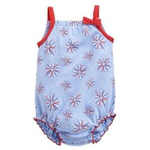 3M Infant Girl's Romper First Moments Baby Fireworks One-piece