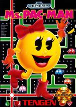 Ms. Pac-Man Sega Genesis Loose - $9.69
