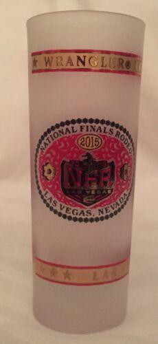 Wrangler National Finals Rodeo 2015 Émerisée Verres à Liqueur 59ml Shooters~ image 5