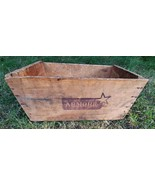 Vintage Armour Star Corned Beef Wooden Crate - £37.38 GBP