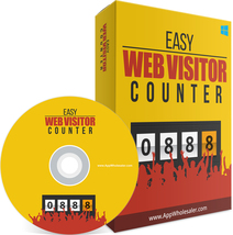 Easy Web Visitor Counter W/ Master Resell Rights - $1.89