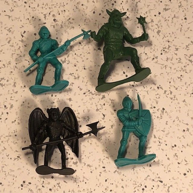 DRAGONRIDERS OF THE STYX MINIATURE PLASTIC ACTION FIGURES MIXED LOT DFC VIKINGS for sale  USA