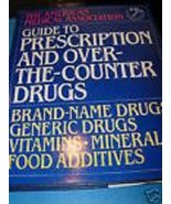 Guide to prescription and over-the-counter drugs Cma - $27.72