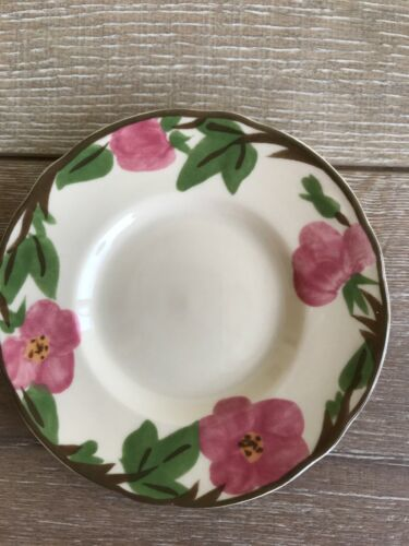 "Set 10 Franciscan Desert Rose Bread Plate 6"" New Modern Stamp Replacement image 8"