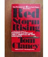 Tom Clancy's Rouge Storm Rising Vintage Livre de Poche - $9.70