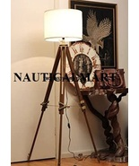 Vintage Classic Tripod Floor Lamp Nautical Floor Lamp Home Decor lamp - $89.00