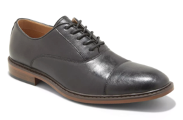 Goodfellow & Co Homme Joseph Noir Faux Cuir Oxford Cap Orteil Robe Chaussures 13