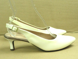 Rockport Women's TM Kaiya White Patent Leather Slingback Pump CH4844 Siz... - $22.43