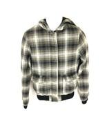 Volcom Boys Green Jacket Zip Button M - $29.69