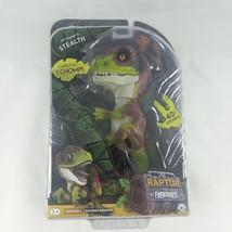 WowWee Fingerlings Untamed Raptor Dinosaur Fingerling - Stealth- Purple/... - $13.95