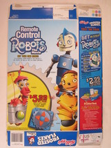 MT KELLOGS Cereal Box 2005 FROSTED FLAKES 20oz ROBOTS THE MOVIE [Y156C13g] - $6.72