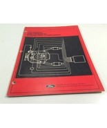 1991 Ford Electronic Engine Controls Description & Operation Systems Com... - $14.99