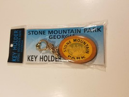 Vintage Stone Mountain Park Georgia Key Chain 1993 New In Package - $19.75