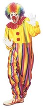 Circus Clown Costume (m) (jumpsuit With Collar And Braces) #ghg - $34.09