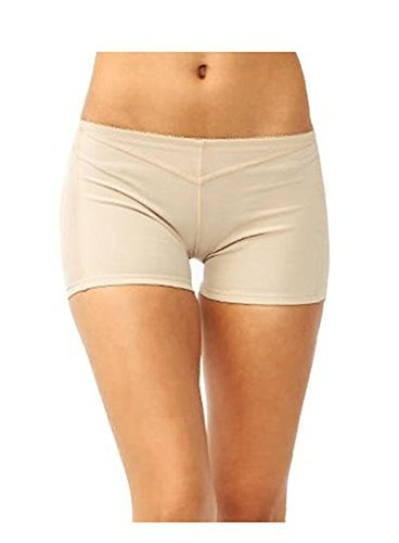 Blue-City Women's Butt Lift Tummy Control Trimmer (S, Nude-8077)