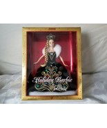 2006 Holiday Barbie Doll by Bob Mackie Black Velvet Jeweled Gown J0949 S... - $46.50