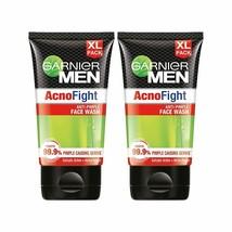 Garnier Men Acno Fight Anti-Pimple Facewash - 150g (Pack of 2) - $25.47