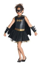 Batgirl Girls Child Halloween Costume Medium Rubies 881626 Batman Dress Up - $258,87 MXN