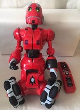 "WowWee Robotics RS Tri-bot 15"" Interactive Talking Robot Red Remote Control - $34.25"