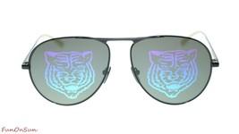 NEW Gucci Unisex Sunglasses GG0334S 002 Black Multicolor Lens 60mm Authe... - $198.85