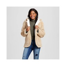 Xhilaration Women's Cozy Reversible Jacket - Cream - Size: XXL - $30.00