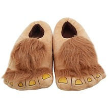 Ibeauti Kids Furry Monster Adventure Slippers, Comfortable Novelty Warm ... - $19.23