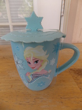 Disney Frozen Elsa & Anna Coffee Mug with Lid - $25.00