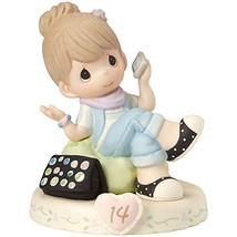 Precious Moments 162013B  Growing In Grace, Age 14, Bisque Porcelain Fig... - $54.84