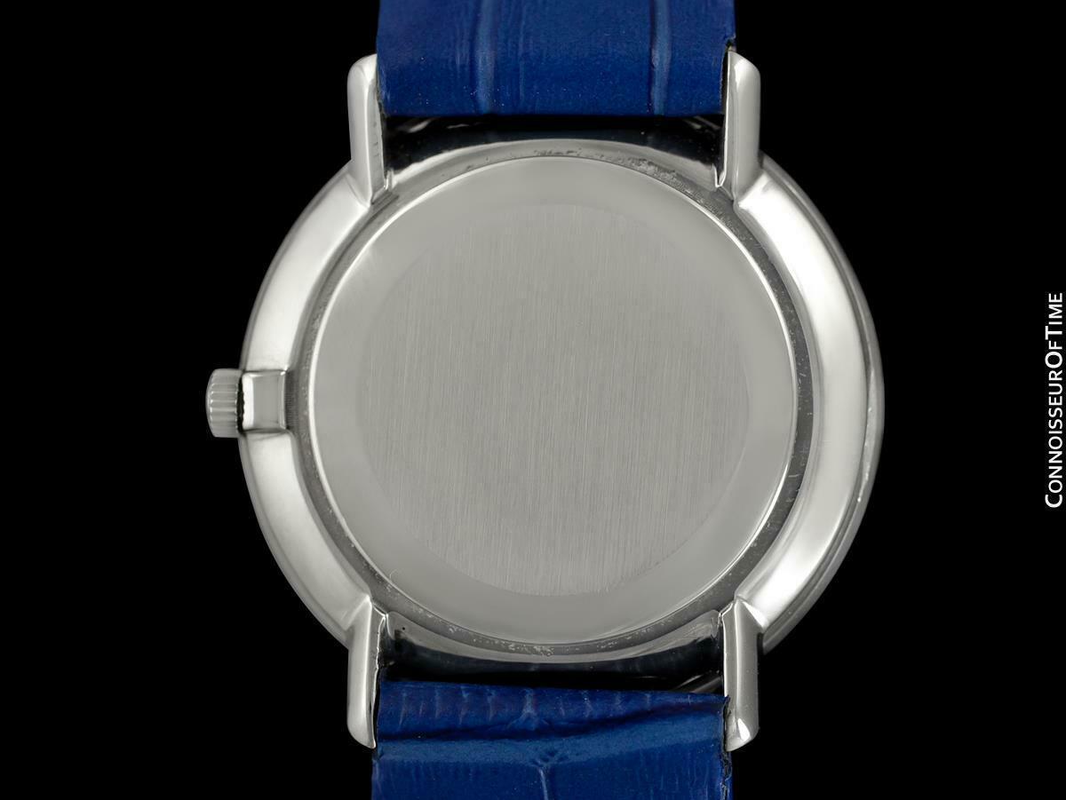 1970 OMEGA DE VILLE Vintage Mens SS Steel Handwound Watch - Mint with Warranty