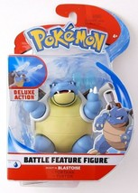 New Blastoise Nintendo Pokemon Battle Feature Figure Deluxe Action WCT - $14.93