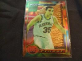 1993-94 Topps Finest  #63 Donald Hodge -Dallas Mavericks- - $3.12
