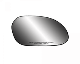 Fits 00-07 Taurus, Sable Right Pass Convex Mirror Glass  w/Rear Back Plate - $26.68