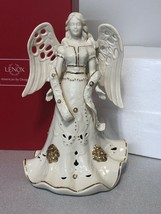 Lenox Florentine and Pearl Lighted Large Angel Figurine10.5 inch by Lenox - $58.41