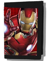 Marvel Avengers Iron Man Trifold  Wallet—More Character Wallets Available Too - $12.47