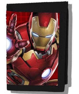 Marvel Avengers Iron Man Trifold  Wallet—More Character Wallets Availabl... - $12.47