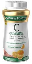 Nature's Bounty Vitamin C, 80 Gummies, Fruit Flavored Gummy Vitamin Supplements