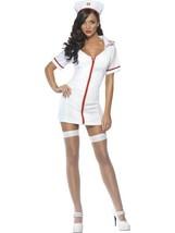 """Fever Sexy Nurse Costume, Chest 42""""-44"""", Fever Fancy Dress #AU - $24.71"""