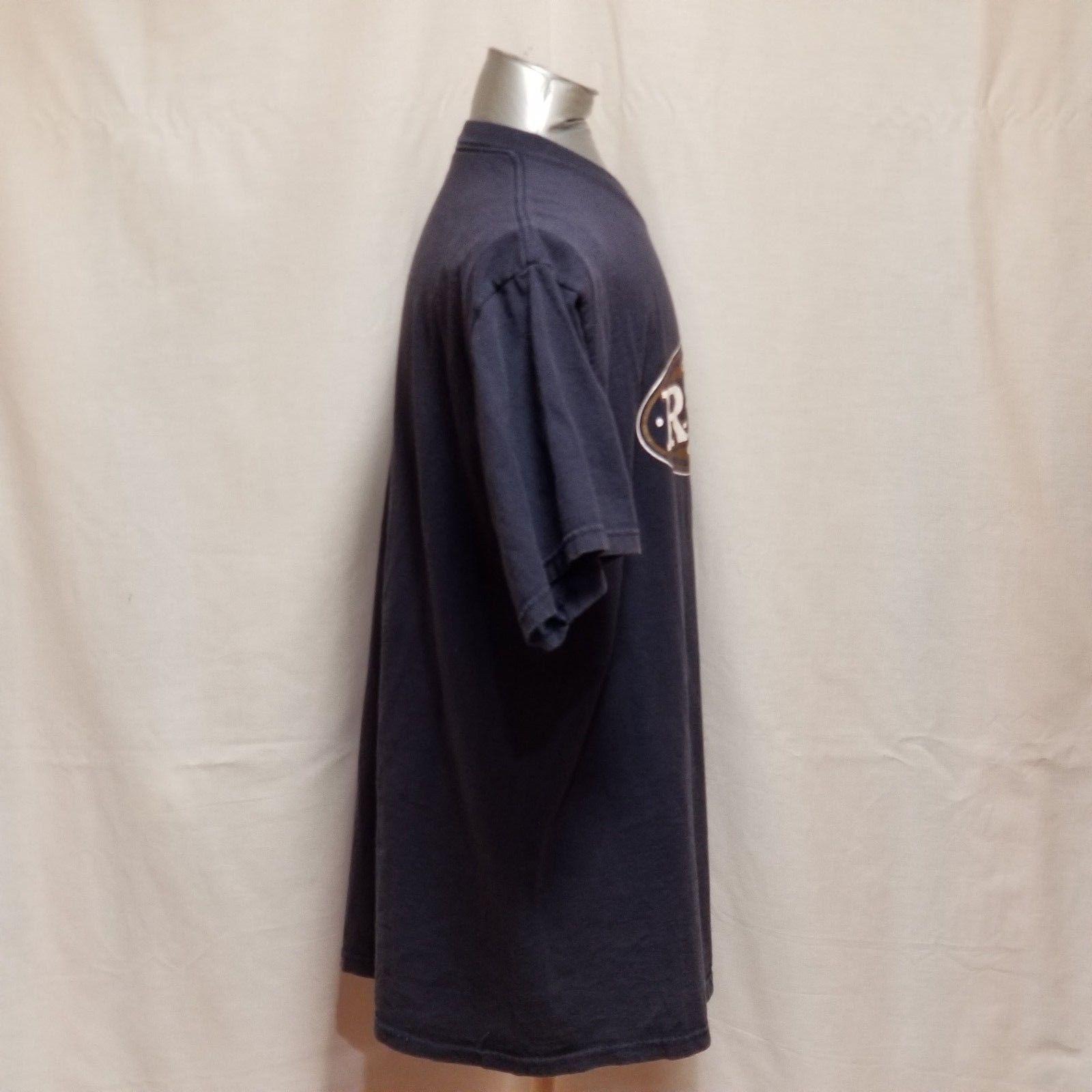 St. Louis Rams NFL Football Mens Size XL Blue Short Sleeve T Shirt image 5