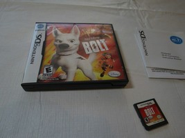 Bolt (Nintendo DS, 2008) Walt Disney Game boy everyone pictures gamer - $8.54