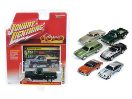 Classic Gold Release 2 Set B Set of 6 cars 1/64 Diecast Model Cars by Jo... - $59.38