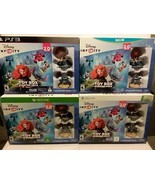 DISNEY INFINITY TOY BOX: 4 STARTER PACKS - BRAVE, LILO & STITCH - FREE S... - $28.05