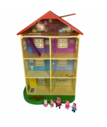 Peppa Pig Lights and Sounds Family Home Playset - 95765 House and Figures - $39.59