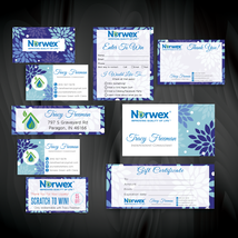 Norwex Marketing Bundle, Norwex, Norwex Marketing Kit, Custom Norwex Car... - $35.00+