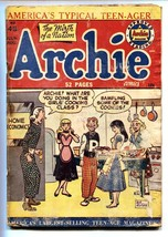 Archie Comics #45 1950- Betty & Veronica- Cookie Sampling cover fr/g - $50.44