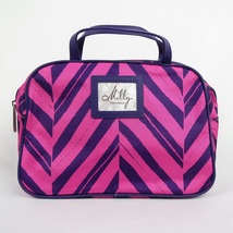 Clinique Milly Pink and Purple Makeup Case with Handles - $3.95