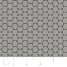 The Green w Envy Connect Dots Iron Gray Double Gauze Cotton fabric by th... - $9.79